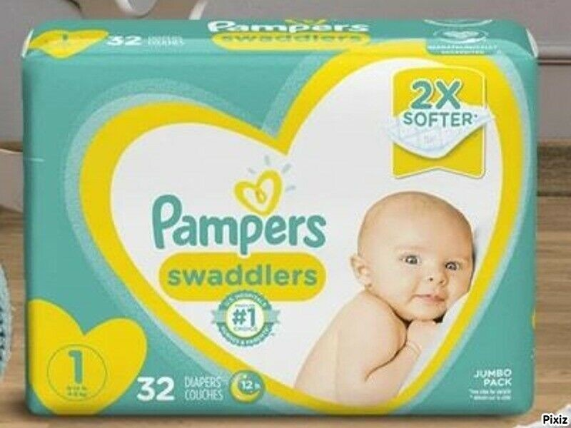 Disposable Pampers Baby Diapers